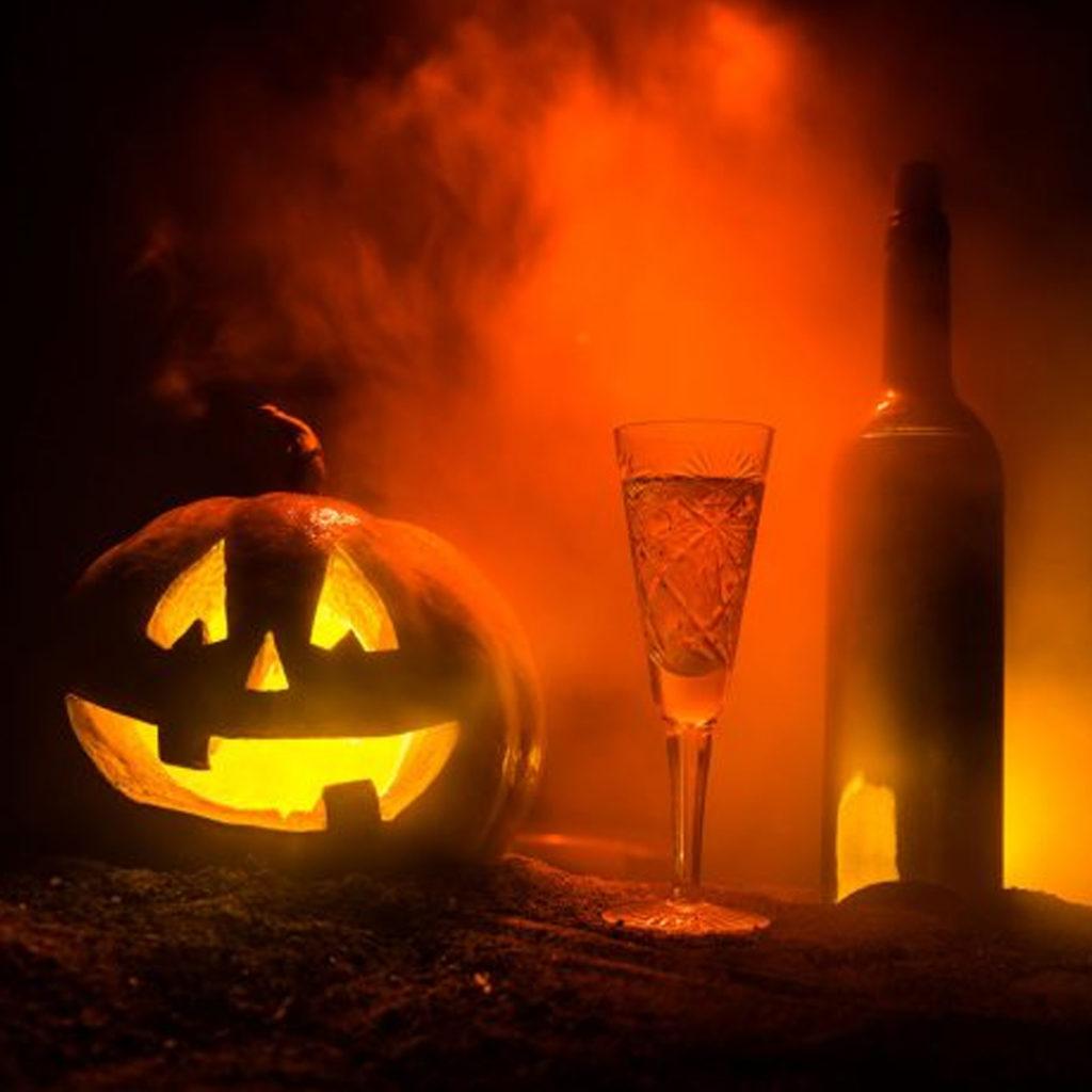 wine halloween