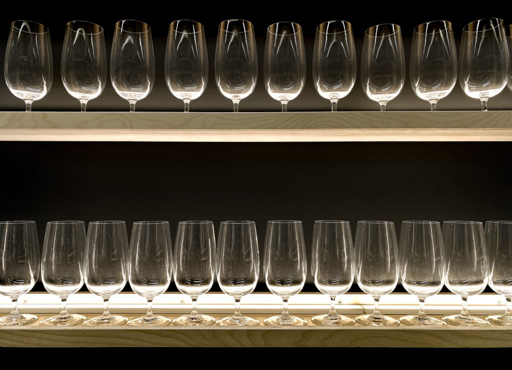 Fortified wine Glasses